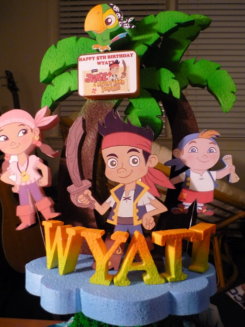Amazing Jake And The Neverland Pirates Cake Baking Things Funny Birthday Cards Online Elaedamsfinfo